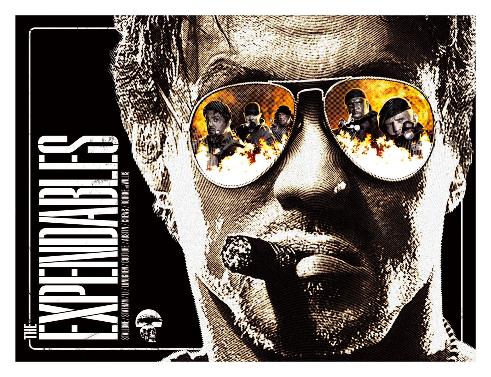 THE EXPENDABLES 劇場パンフレット 表紙デザイン