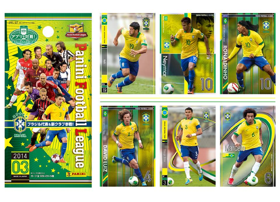 Panini Football League 2014 第3弾発売!