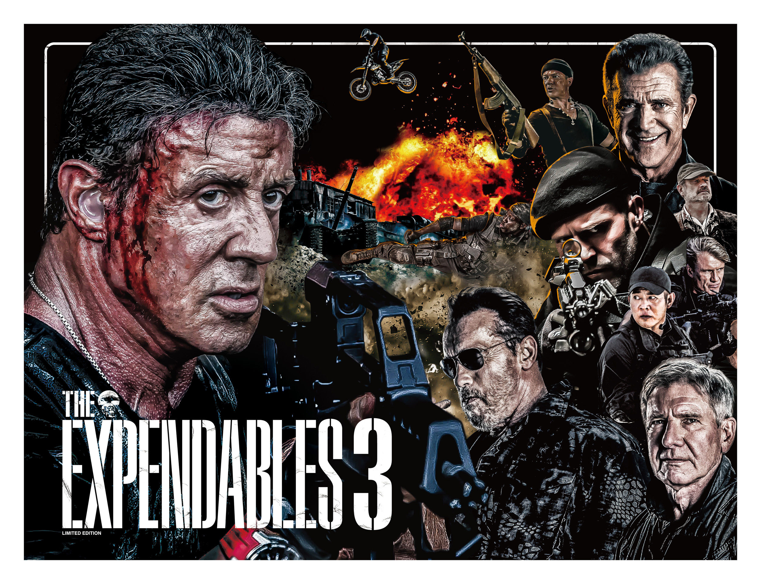 THE EXPENDABLES 3 劇場パンフレット表紙デザイン