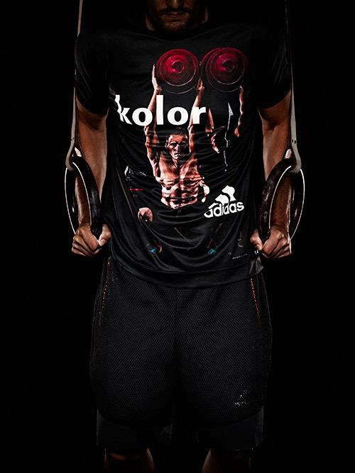 adidas by kolor Tシャツ