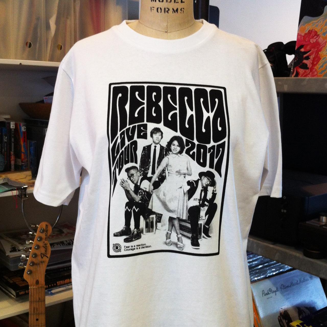 REBECCA コンサートTシャツ